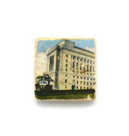 Masonic Building Vintage Postcard Magnet