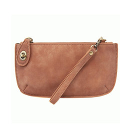 Lux Crossbody Wristlet Clutch : Dusty Mauve