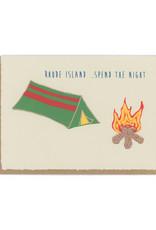 Rhode Island... Spend The Night Greeting Card