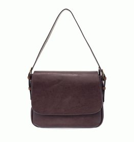 Jane Convertible Crossbody : Eggplant/Coffee