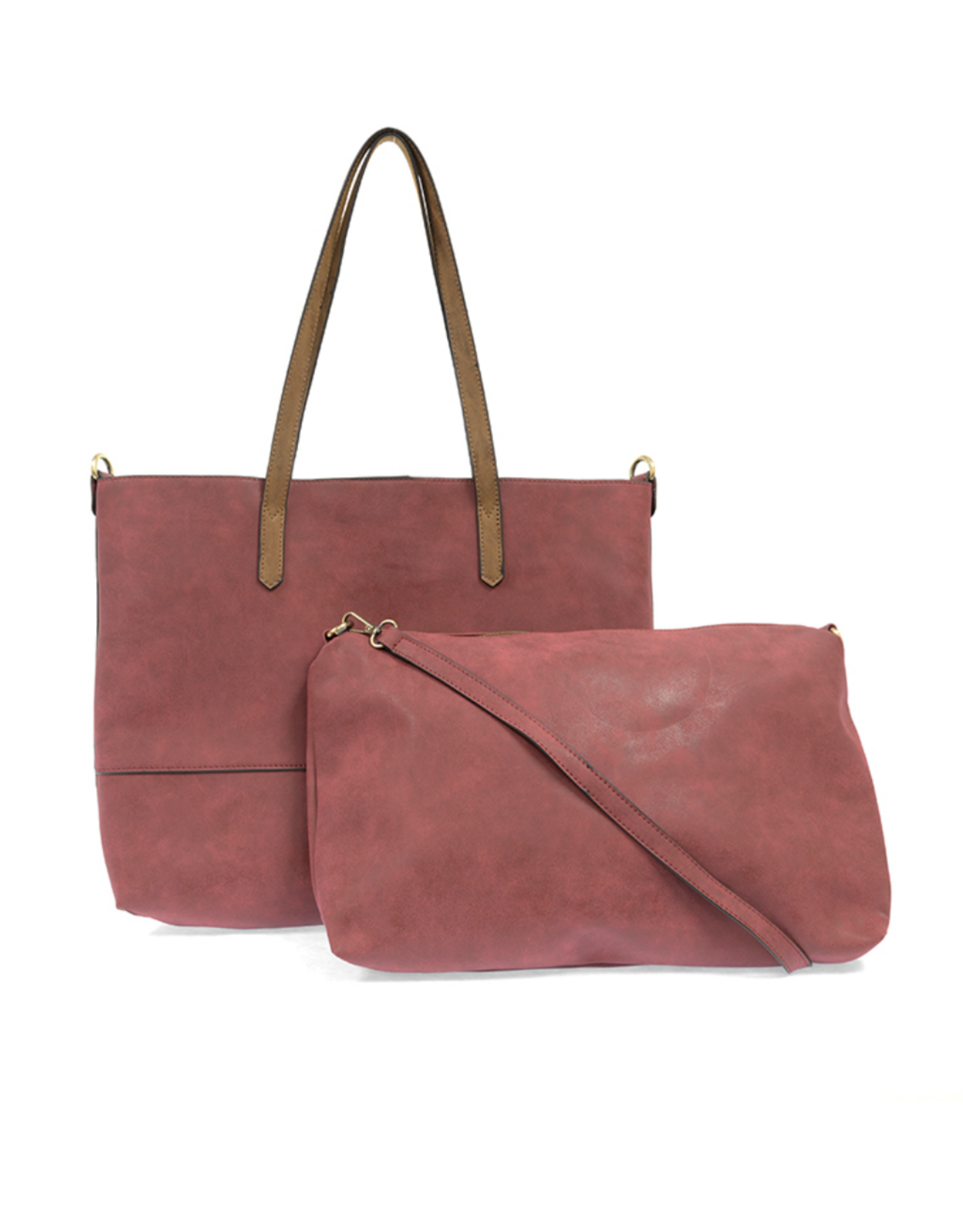 Brushed 2 in 1 Tote :  Chili Pepper