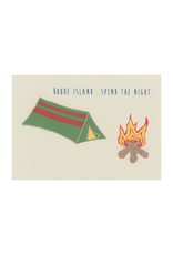 Rhode Island Camp Framed Print (CURBSIDE PICKUP ONLY)