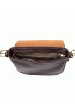 Jane Convertible Crossbody : Eggplant/Coffee