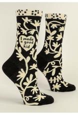 I Made a Good Kid Women's Crew Socks