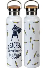 Teachers are Superheroes Insulated Bottle