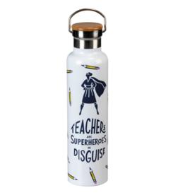 Teachers are Superheros Insulated Bottle