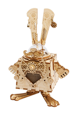 Hands Craft DIY Steam Punk Bunny Music Box