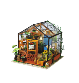 Hands Craft DIY Miniature House Kit : Cathy's Flower House