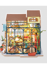 Hands Craft DIY Miniature House Kit : Emily's Flower Shop