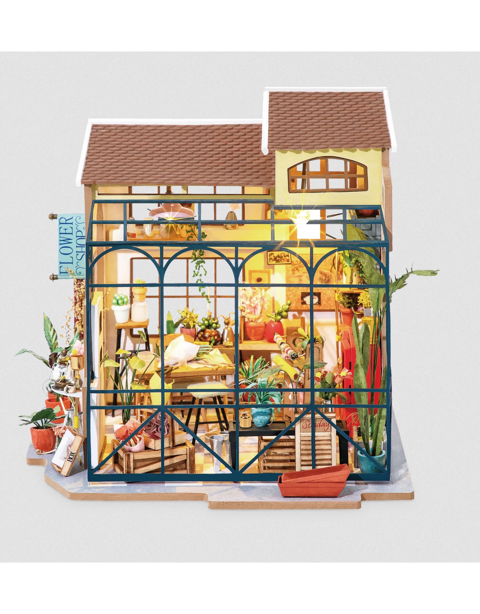 DIY Miniature House Kit : Emily's Flower Shop