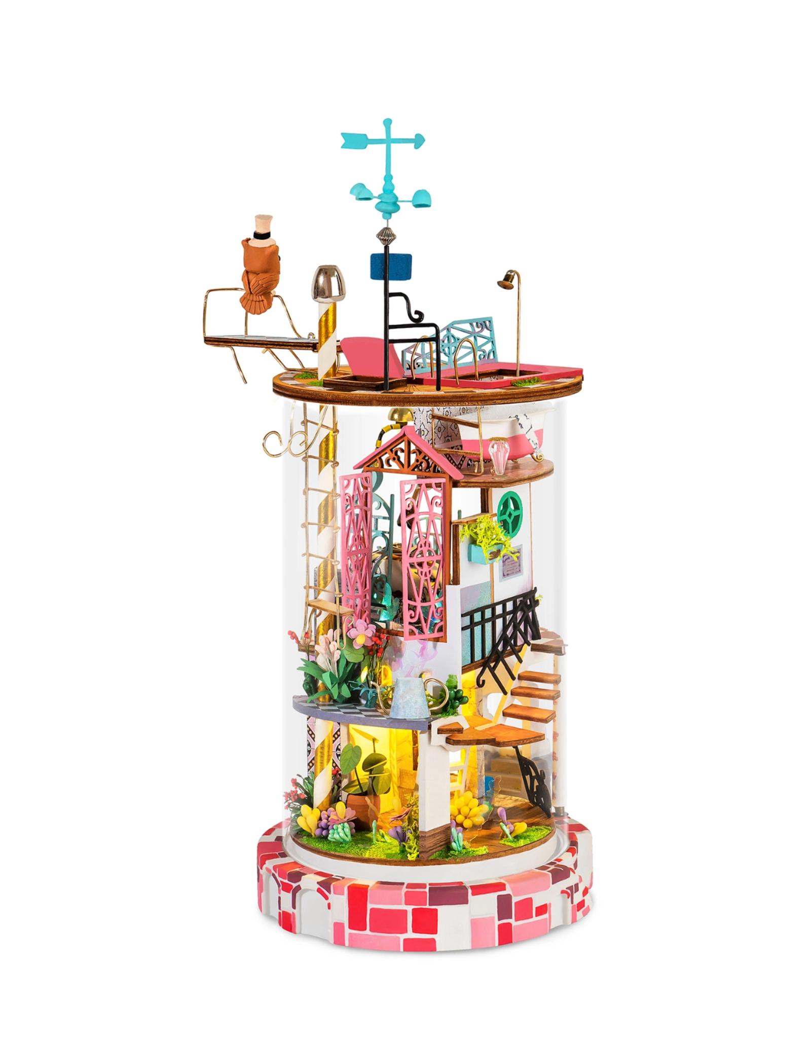 DIY Miniature House Kit : Bloomy House