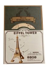 Modern Wooden Puzzle : Eiffel Tower