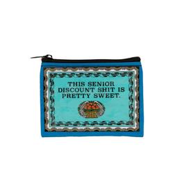 Senior Discount Coin Purse