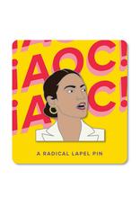 AOC Enamel Pin