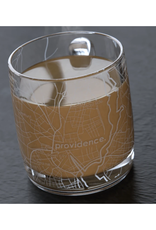 Providence Map Glass Coffee Mug