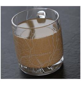 Providence Map Glass Coffee Mug