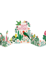 Roger La Borde Happy Birthday Parrot Pop Up Greeting Card