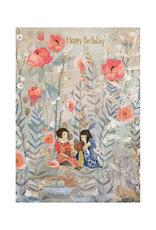 Roger La Borde Happy Birthday Reading Dreamland Greeting Card