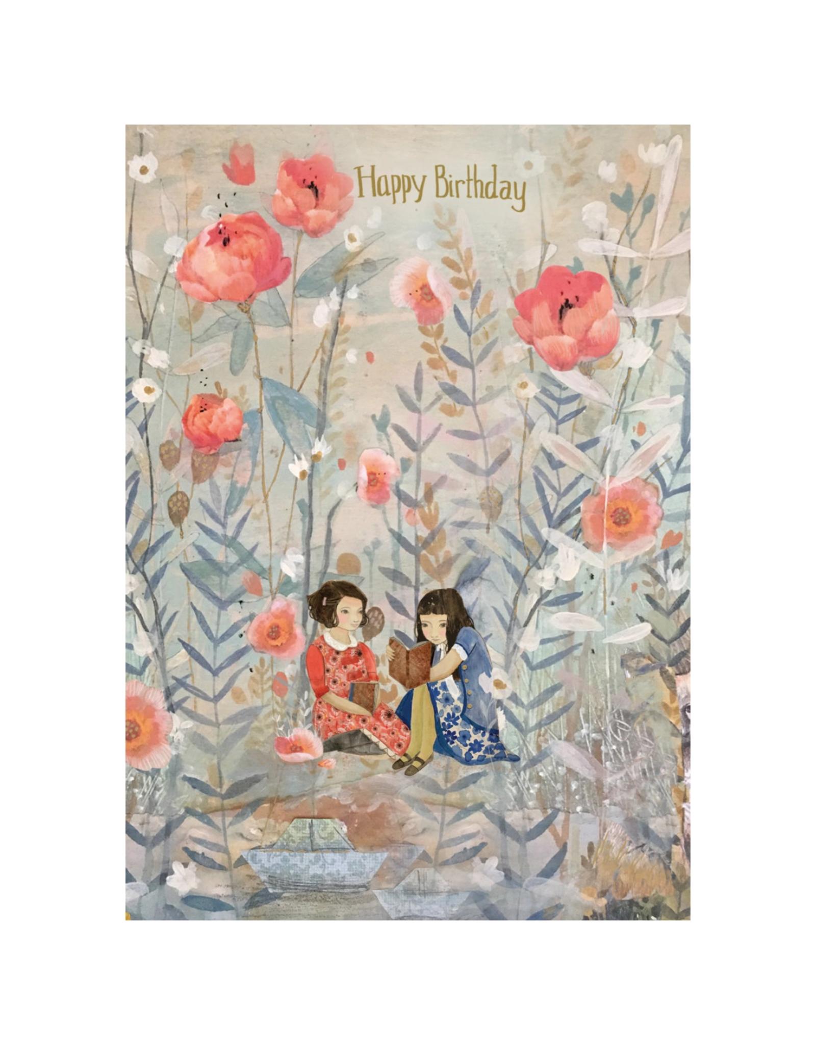 Happy Birthday Reading Dreamland Greeting Card