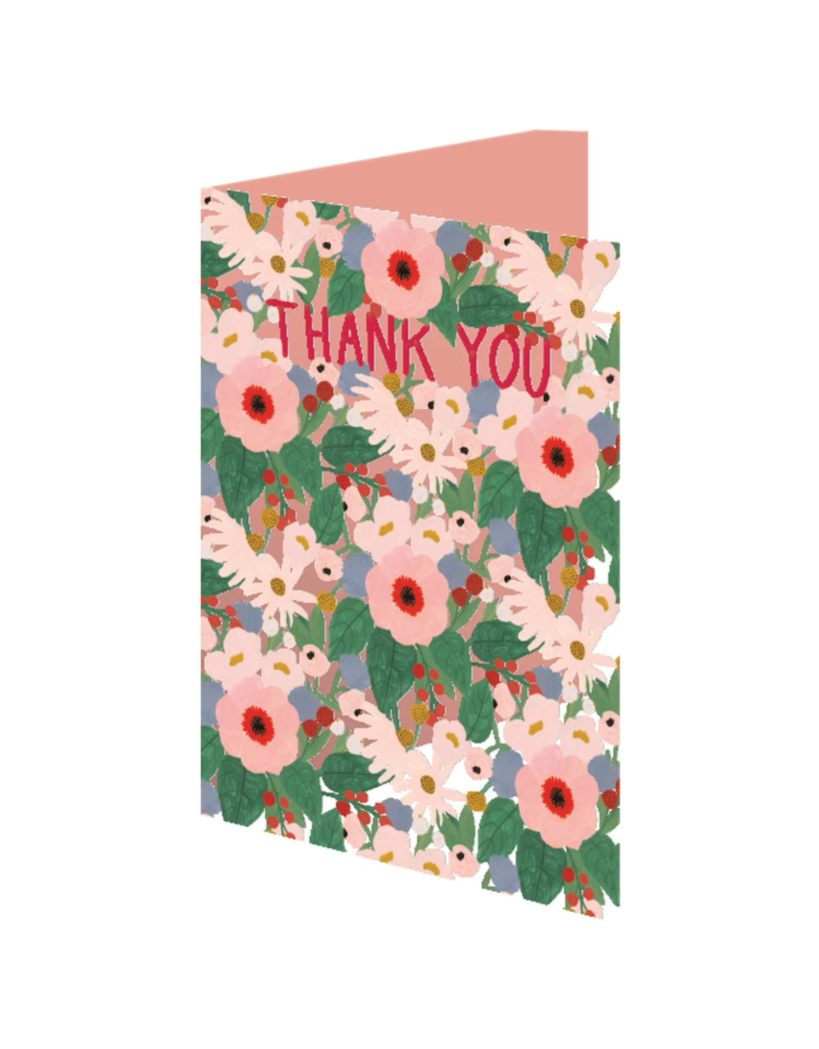 Thank You King Protea Greeting Card