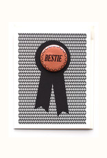 Bestie Button & Greeting Card