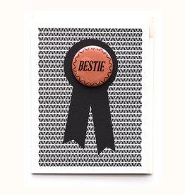 Bestie Button & Greeting Card