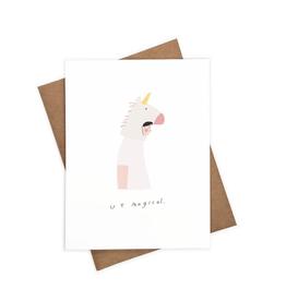 Iejvxr U R Magical Greeting Card