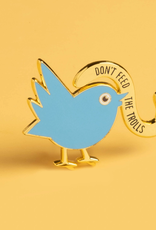 Dissent Pins Don't Feed The Trolls Pin