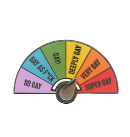 Dissent Pins Super Gay Pin