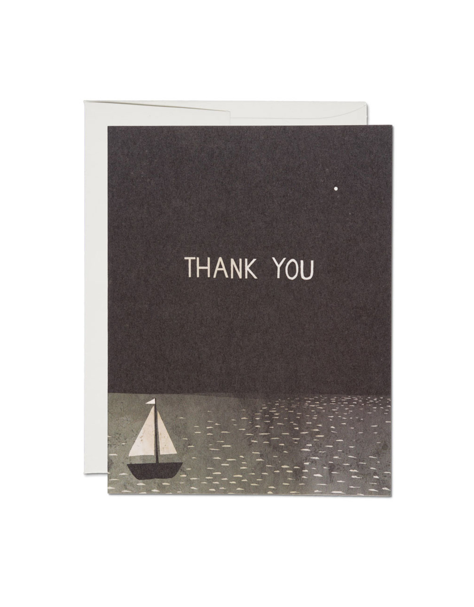 Thank You Boat Greeting Card