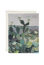 Thank You Desert Landscape Greeting Card