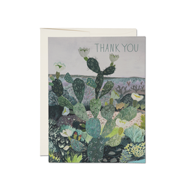 Thank You Desert Landscape Greeting Card
