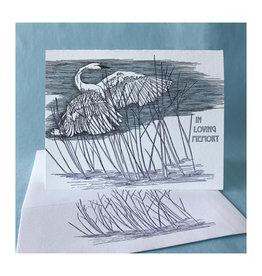 In Loving Memory Reed Greeting Card