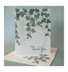 Thank You (English Ivy) Greeting Card