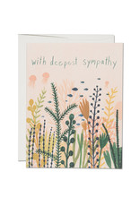 With Deepest Sympathy Underwater Greeting Card