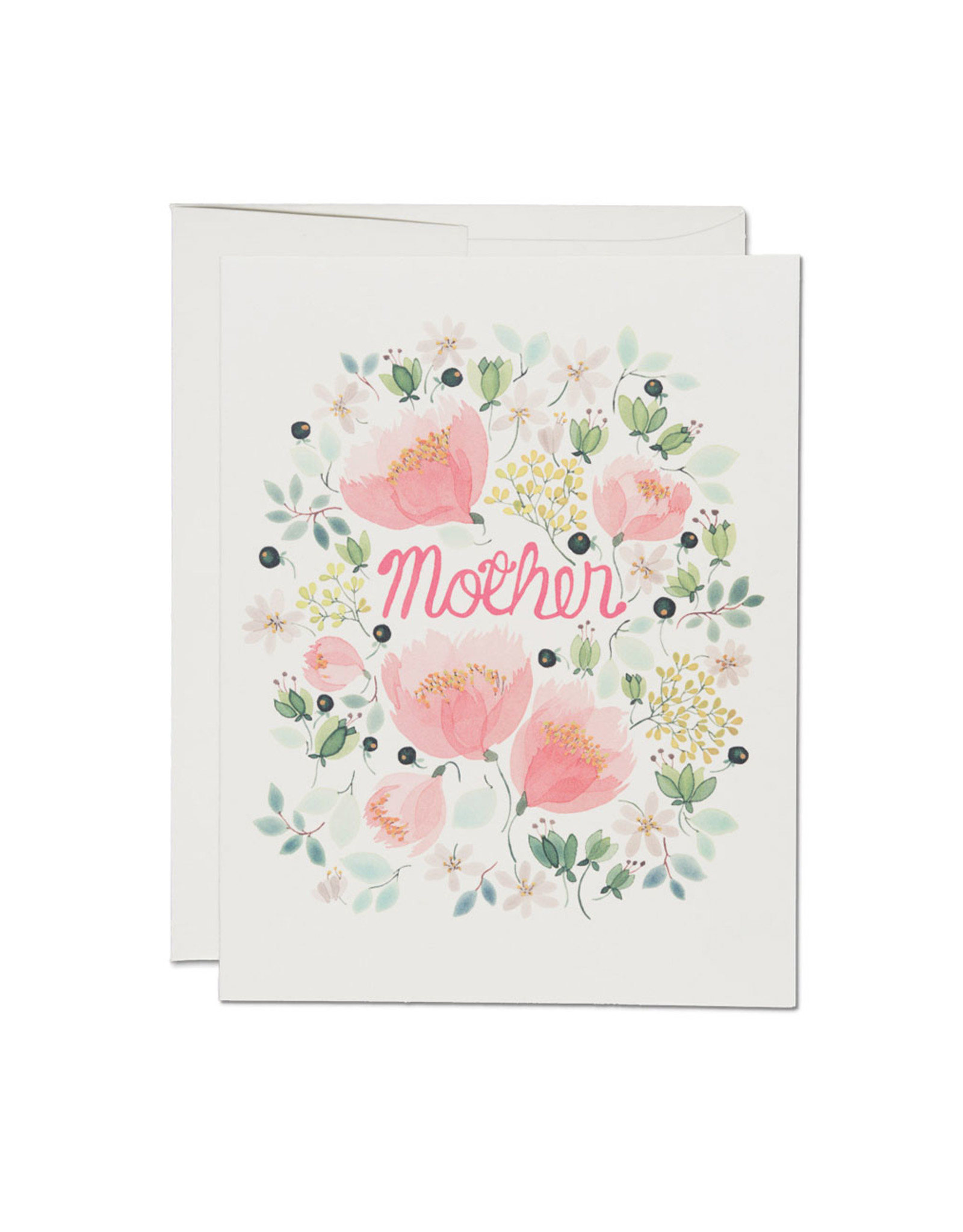 Mother Wild Peonies Greeting Card