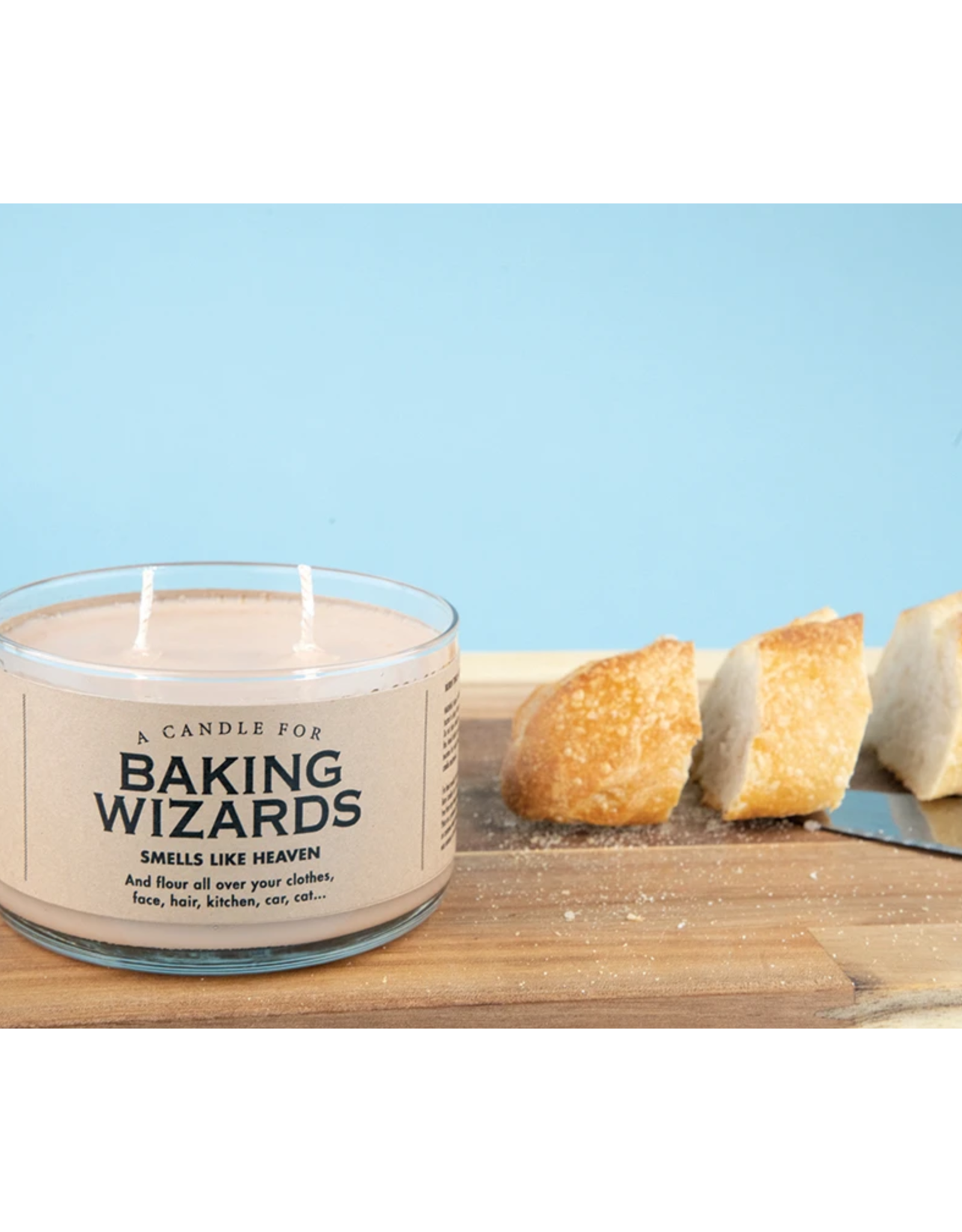 A Candle for Baking Wizards (Fresh Artisan Bread Scented)