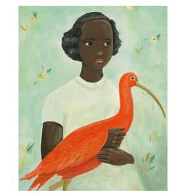 Scarlet Ibis Girl Print