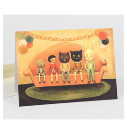 Costume Party Greeting Card