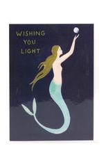 Wishing You Light Mermaid Greeting Card