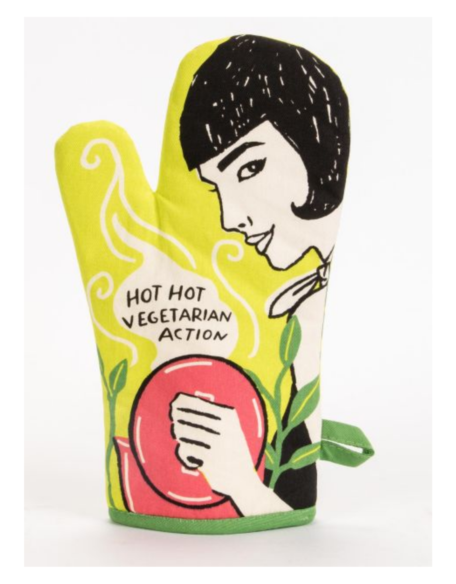 Hot, Hot Vegetarian Action Oven Mitt