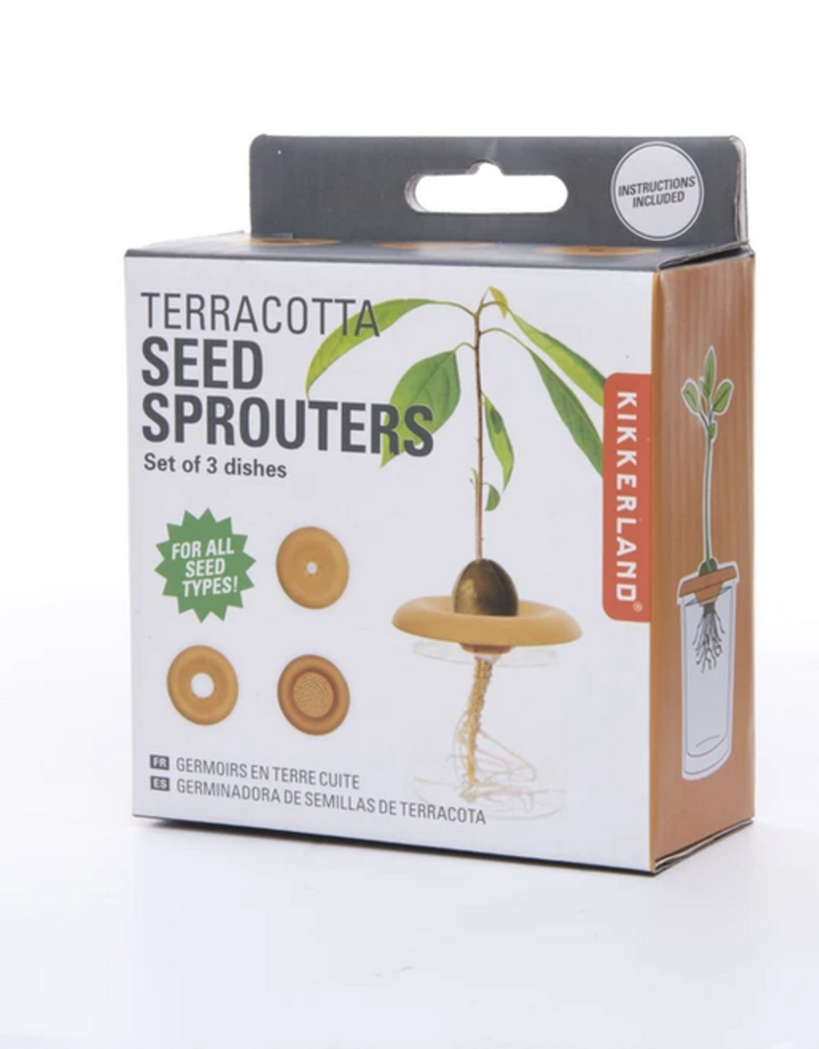 Terracotta Seed Sprouters