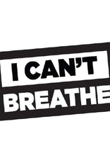I Can't Breathe Bumper Sticker