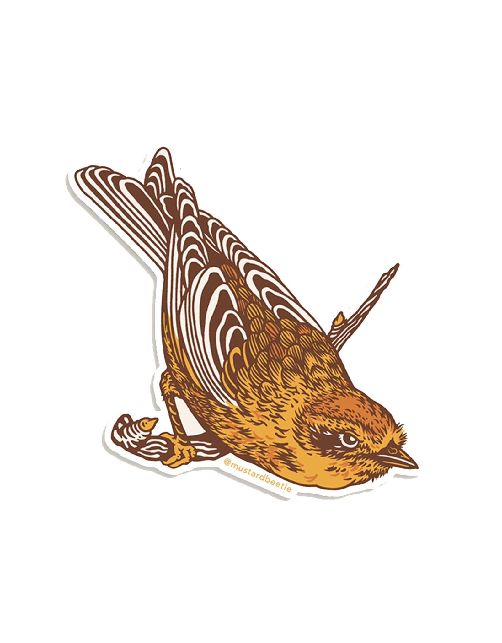 Palm Warbler Sticker