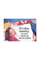 It's Okay Laundry Magnet