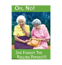 Oh No! She Forgot the Rolling Papers! Magnet