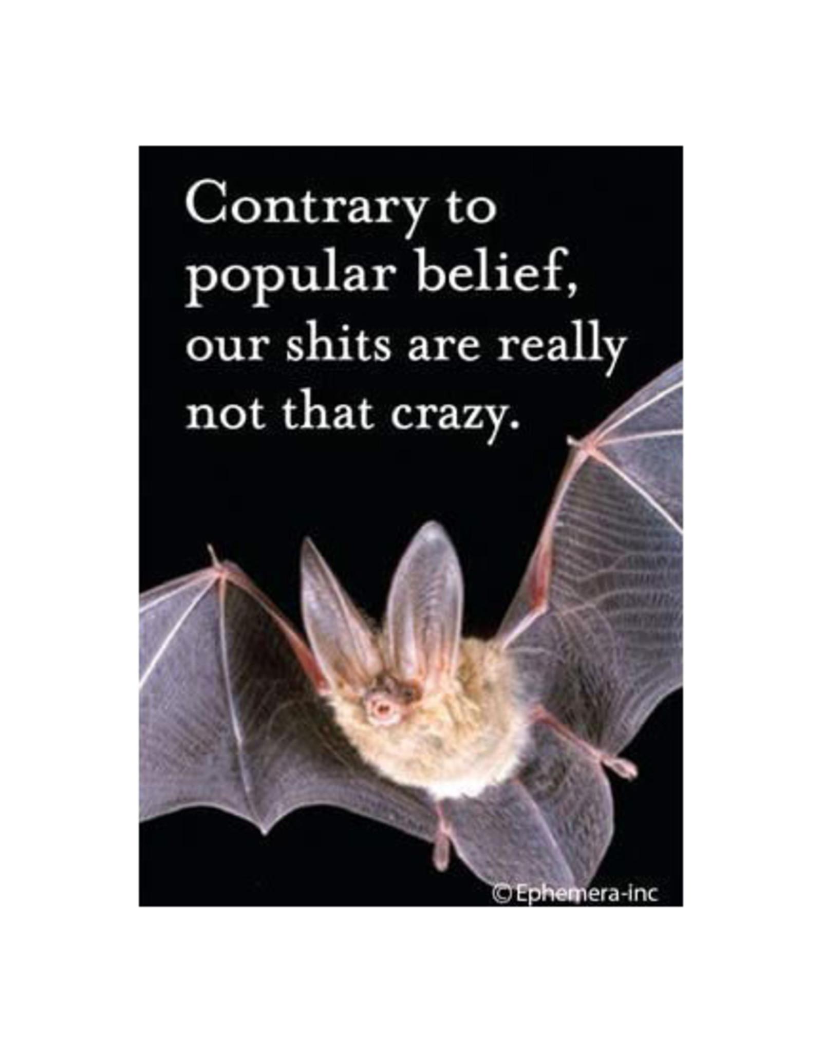 Bat Crazy Magnet
