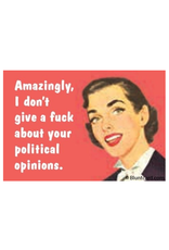 Political Opinions Magnet