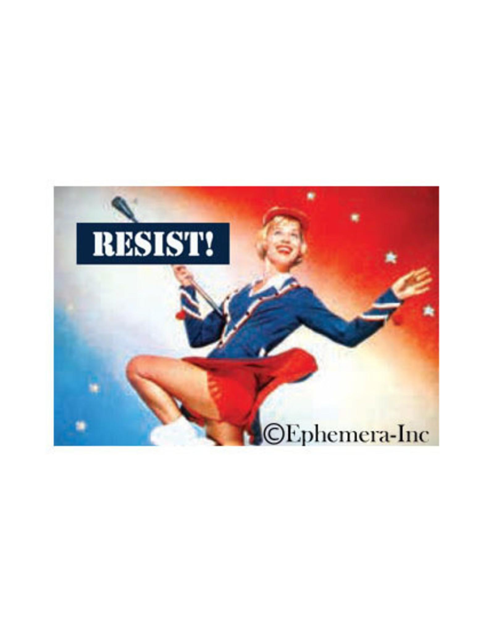 Resist! Baton Lady Magnet