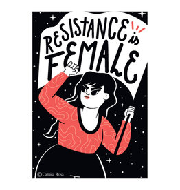Resistance Is Female Magnet